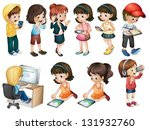 illustration of the different...   Shutterstock .eps vector #131932760