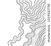 topographic map vector... | Shutterstock .eps vector #1319332730