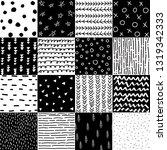 hand drawn geometric patterns ...   Shutterstock .eps vector #1319342333