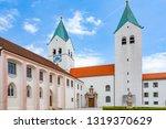 spires freising cathedral ... | Shutterstock . vector #1319370629