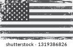 grunge american flag.  | Shutterstock .eps vector #1319386826