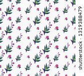 stitching seamless pattern with ... | Shutterstock .eps vector #1319388479