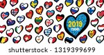 song festival euro songfestival ... | Shutterstock .eps vector #1319399699