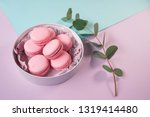 pink delicious homemade... | Shutterstock . vector #1319414480