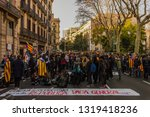 barcelona  catalonia spain ... | Shutterstock . vector #1319418236