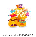 vector holiday illustration.... | Shutterstock .eps vector #1319438693