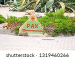 pointer peace in latrun... | Shutterstock . vector #1319460266