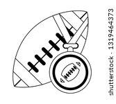 american football sport game...   Shutterstock .eps vector #1319464373