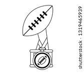 american football sport game...   Shutterstock .eps vector #1319465939