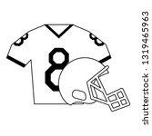 american football sport game...   Shutterstock .eps vector #1319465963