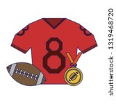 american football sport game...   Shutterstock .eps vector #1319468720
