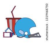 american football sport game...   Shutterstock .eps vector #1319468750
