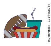 american football sport game...   Shutterstock .eps vector #1319468759