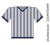 baseball tshirt wear cartoon...   Shutterstock .eps vector #1319470349