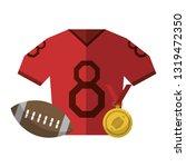 american football sport game   Shutterstock .eps vector #1319472350