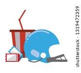 american football sport game   Shutterstock .eps vector #1319472359