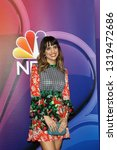 Small photo of LOS ANGELES - FEB 20: Natalie Morales at the NBC's Los Angeles Mid-Season Press Junket at the NBC Universal Lot on February 20, 2019 in Universal City, CA