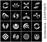 design elements set. abstract...   Shutterstock .eps vector #1319473673
