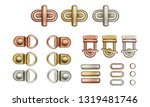 haberdashery accessories. metal ... | Shutterstock .eps vector #1319481746