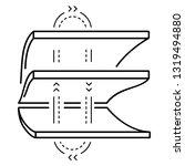 thermo regulating membrane...   Shutterstock .eps vector #1319494880