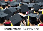 back of graduates during... | Shutterstock . vector #131949770
