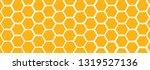 Abstract Yellow Orange Beehive...
