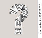 Question Mark Labyrinth  Multi...