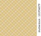 seamless cross brown shading... | Shutterstock .eps vector #131956079