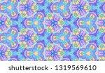 whimsical ethnic seamless...   Shutterstock .eps vector #1319569610