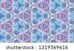 whimsical ethnic seamless...   Shutterstock .eps vector #1319569616
