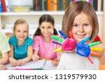 classroom kindergarten play...   Shutterstock . vector #1319579930
