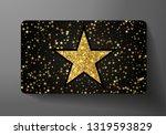 gift card  vip . holiday award... | Shutterstock .eps vector #1319593829