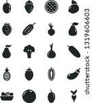 solid black vector icon set  ... | Shutterstock .eps vector #1319606603