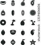 solid black vector icon set  ... | Shutterstock .eps vector #1319606606