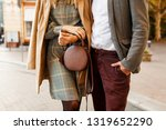 close up fashion details of... | Shutterstock . vector #1319652290