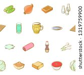 food images. background for... | Shutterstock .eps vector #1319759900