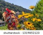 scenery around vals les bains ... | Shutterstock . vector #1319852123