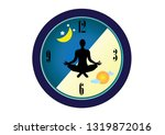 the circadian rhythms are...   Shutterstock .eps vector #1319872016