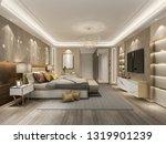 3d rendering beautiful luxury... | Shutterstock . vector #1319901239