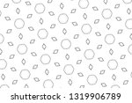 abstract geometric background... | Shutterstock . vector #1319906789
