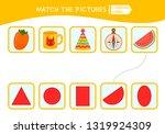 matching children educational... | Shutterstock .eps vector #1319924309