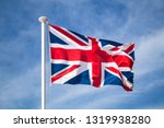 the national flag of the united ... | Shutterstock . vector #1319938280