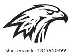 abstract eagle or hawk head... | Shutterstock .eps vector #1319950499