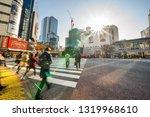 tokyo  japan   dec 3  2017 ... | Shutterstock . vector #1319968610