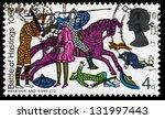 united kingdom   circa 1966  a... | Shutterstock . vector #131997443