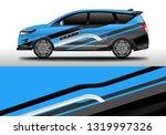car decal company wrap design...   Shutterstock .eps vector #1319997326