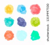 watercolor splash background...   Shutterstock .eps vector #1319997530