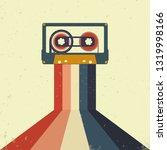 cassettes music retro style.... | Shutterstock .eps vector #1319998166