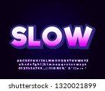 modern bold font effect act... | Shutterstock .eps vector #1320021899