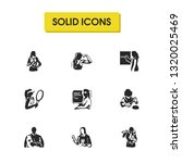 person icons set with...   Shutterstock .eps vector #1320025469